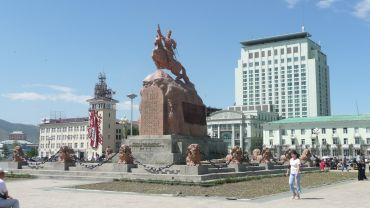 Monument of Suhe